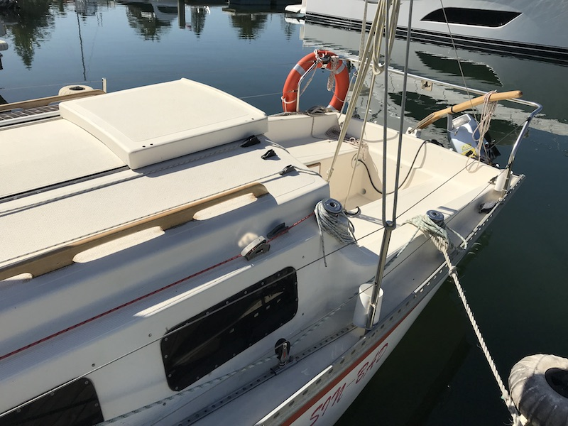 Aquarius 23 Trailer Sailer Skbs