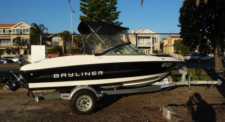 Bayliner 175 Bow Rider Skbs